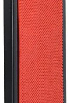 Livres Couvertures de BSX 536504 Repose-pied pour guitare hauteur réglable 12-23cm - Rouge