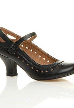 Livres Couvertures de Escarpins femmes petit talon travail classique chaussures taille 5 38