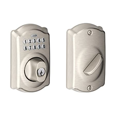 Experience the Freedom of Keyless Convenience  No more hiding keys under the doormat. No more losing, forgetting, or making extra keys time and time again. Step up to a more secure and flexible solution with a Schlage Residential Keypad Deadbolt....