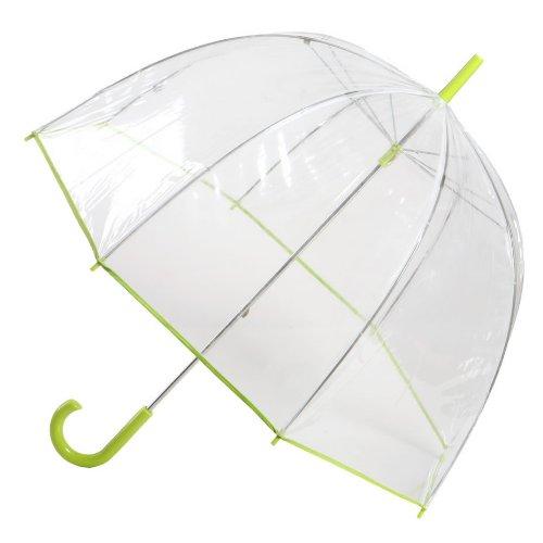 TOTES トーツ 傘 ドーム型 バブル クラシック ステック アンブレラ ライム【並行輸入品】