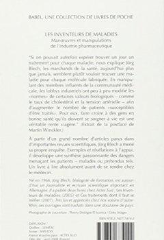 Livres Couvertures de Les inventeurs de maladies : Manoeuvres et manipulations de l'industrie pharmaceutique