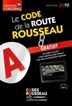 Livres Couvertures de Code Rousseau de la route B 2019