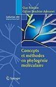 Concepts et méthodes en phylogénie moléculaire