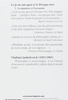 Livres Couvertures de Le je-ne-sais-quoi et le presque-rien, tome 1
