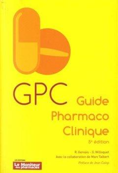 Livres Couvertures de GPC Guide Pharmaco Clinique