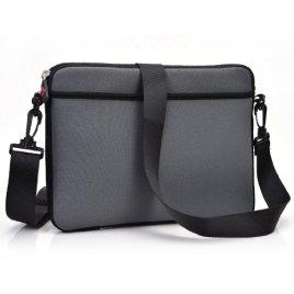 Kroo-Microsoft-Book-135-inch-Case-Black-TabletLaptop-Sleeve-with-Shoulder-Strap