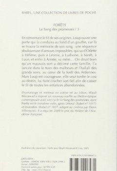 Livres Couvertures de Le sang des promesses : Tome 3, Forêts