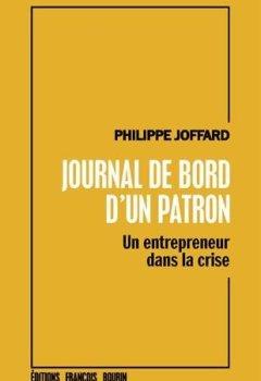 Livres Couvertures de Journal de bord d'un patron : Un entrepreneur dans la crise