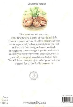 Livres Couvertures de The Original Peter Rabbit Baby Book - My First Year