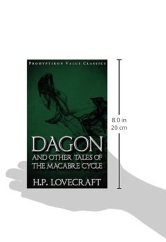 Abdeckungen Dagon and Other Tales of the Macabre Cycle (Prohyptikon Value Classics)