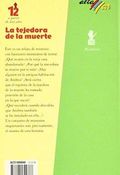 Portada del libro deTejedora de la muerte, la (Altamar (antigua))