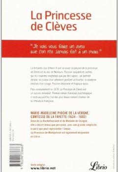 Livres Couvertures de La Princesse de Clèves
