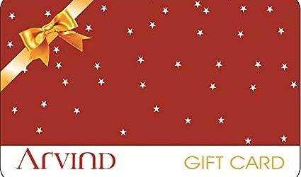 Arvind Arrow Gift Card