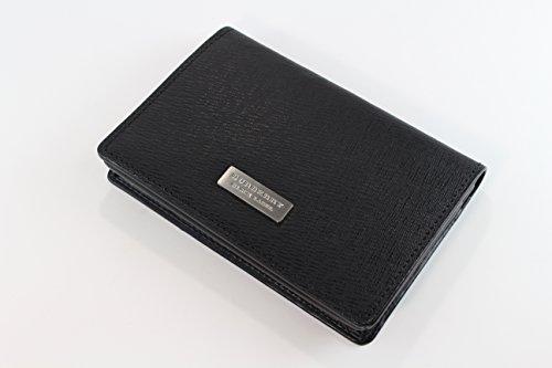 バーバリー ブラックレーベル 名刺入れ カードケース メンズ ブラック burb099