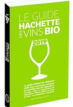 Livres Couvertures de Guide Hachette des vins bio 2019