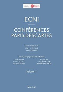 Livres Couvertures de ECNi : Conférences Paris-Descartes Volume 1