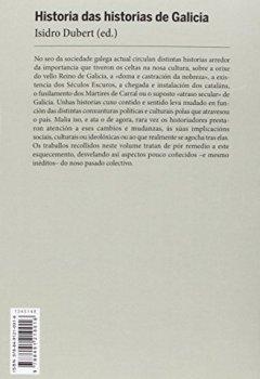 Portada del libro deHistoria Das Historias De Galicia (Edición Literaria - Crónica - Historia)