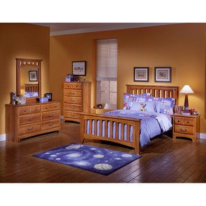 Image of City Park Kids Slat Bedroom Set by Standard Furniture (4850-B-SET)