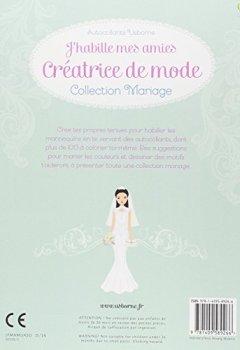 Livres Couvertures de J'habille mes amies - Créatrice de mode : Collection Mariage - Autocollants Usborne