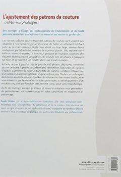 Livres Couvertures de L'ajustement des patrons de couture : Toutes morphologies