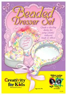 Image of Creativity For Kids Beaded Dresser Set (B000GEE23G)