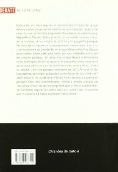 Portada del libro deOtra idea de Galicia (DEBATE)