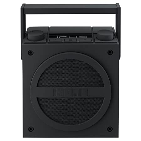 Bring the party wherever you go with the iBT4 Boom box. Stream wireless digital audio via Bluetooth from your iPhone, iPad, Android, Blackberry and other Bluetooth enabled devices. The iBT4 also has FM radio, a line-in jack, as well as a line-out jac...