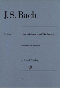 Livres Couvertures de Inventionen und Sinfonien BWV 772-801 (inventions à 2 et 3 voix) - Henle