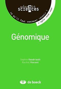 Livres Couvertures de Génomique