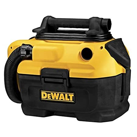 The DEWALT DCV581H 18/20v MAX* Cordless/Corded Wet-Dry Vacuum has the ability to provide cordless or corded operation powered by either an 18v or 20v MAX battery or an AC outlet. It features a HEPA rated wet/dry filter that traps dust with 99.97% eff...