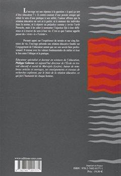 Livres Couvertures de La relation éducative : Un outil professionnel pour un projet humaniste