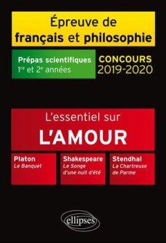 Livres Couvertures de Thème et les trois oeuvres. Epreuve de français / philo. Prépas scientifiques. 2019-2020
