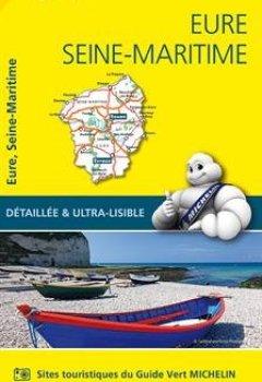 Livres Couvertures de Carte Eure, Seine-Maritime Michelin