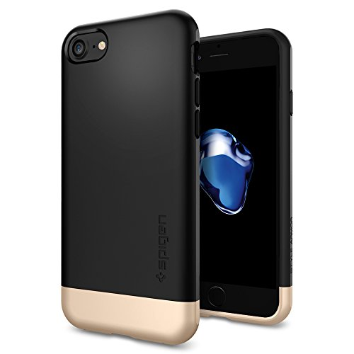 iPhone-7-Case-Spigen-Style-Armor-Protective-Black-SOFT-Interior-Scratch-Protection-Metallic-Finished-Base-with-Dual-Layer-Protection-Slim-Trendy-Hard-Case-for-Apple-iPhone-7-2016-042CS20516