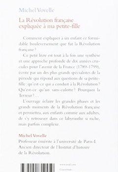 Livres Couvertures de La Révolution française expliquée à ma petite-fille