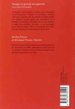 Livres Couvertures de Voyage en grande bourgeoisie : Journal d'enquête