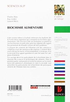 Livres Couvertures de Biochimie alimentaire - 6ème édition - 6e édition de l'abrégé