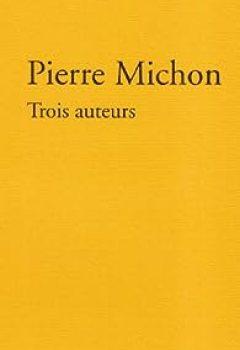 Livres Couvertures de Trois auteurs