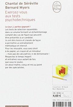 Livres Couvertures de Exercez-vous aux tests psychotechniques