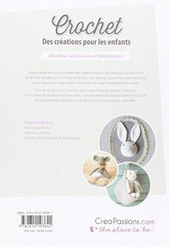 Livres Couvertures de Crochet : Des créations pour les enfants doudous, accessoires et décorations