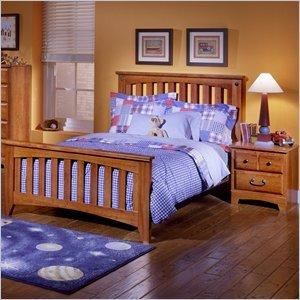 Image of Standard Furniture Standard City Park Kids Slat Bed 2 Piece Bedroom Set (B003D3YY8A)