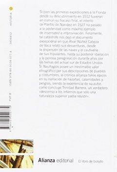 Livres Couvertures de Naufragios
