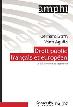 Livres Couvertures de Droit public français et européen