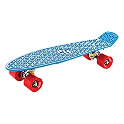 EightBit 22 Inch Complete Skate Board - Retro Skateboard