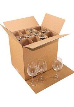 Livres Couvertures de Carton déménagement 24 verres