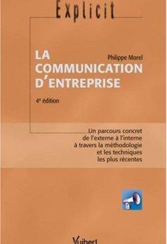 Livres Couvertures de La communication d'entreprise