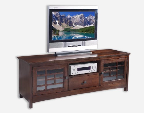 Image of Somerton Home 929A95 65in. Enchantment Console TV Stand, Natural (929A95)