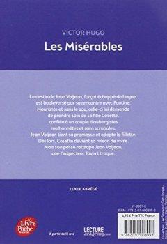 Livres Couvertures de Les misérables