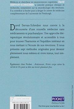 Livres Couvertures de Guérir le stress, l'anxiété, la dépression sans médicaments, ni psychanalyse