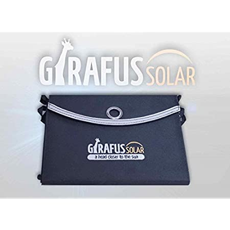 Use the free&green energy of the sun!!! Charge your Smartphones, Tablets with this high efficiency solar panel! 2xUsb Charging Port High efficiency solar panels Bungee Loops to attach to your backpack for charging while hiking with outsidePocket (you...